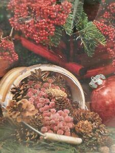SPRINGBOK 2000 Piece Puzzle Colors Of Christmas Ornaments Navidad Pine EUC NEW