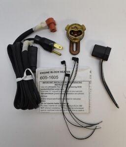 Zerostart 310-0015 Engine Block Heater Chevy GM 3.1L 3.5L 34mm 115 volt
