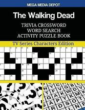 The Walking Dead Trivia Crossword Word Search Activity Puzzle Book : TV...