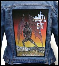 MORTAL SIN - Mayhemic Destruction 2 --- Huge Jacket Back Patch Backpatch