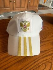 Adidas Russia Soccer National Team Adjustable Hat