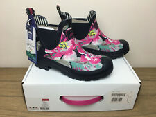 BNWT Joules Wellibobs Size 5 EU 38 Navy Floral Woman's Boxed