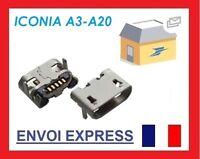 Connecteur de charge micro USB pour acer iconia a3-a20
