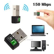 Mini 150Mbps USB Wireless N WiFi Lan Adapter Dongle High Signal Gain 802.11n/g/b