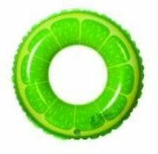 Inflatable Lemon Fruit Swimming Ring Float for Summer Water Games for Adult (Gre