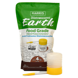 Harris Diatomaceous Earth Food Grade - 4 lbs. (includes duster)