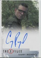 X Files Seasons 10 & 11 Autograph Card Cory Rempel as Young Walter Skinner