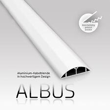 eSmart Germany Aluminium Kabelkanal ALBUS weiß