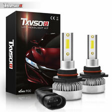 2x HB3 9005 LED Headlight Bulbs Conversion Kit 55W 6000K White  High Low Beam