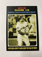 2020 Topps Heritage 2019 Game #6 Jose Altuve Sends Astros to World Series #200