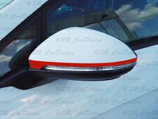 Außenspiegel Aufkleber Streifen Stripes für VW Golf VII 7 Variant Sportsvan GTI