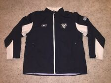 Pittsburgh Penguins Reebok Full Zip Light Spring Windbreaker Jacket - Men's XL