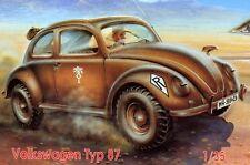 CMK - VW Volkswagen Typ 87 Wüste Afrika-Korps 1:35 Modell-Bausatz SELTEN RAR kit