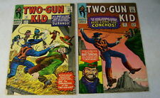 TWO GUN KID #82,83 WESTERN, DURANGO, 1966, CONCHOS