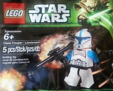 NEW & SEALED LEGO STAR WARS Clone Trooper Lieutenant Minifig PROMO SET 5001709