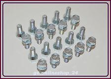 20 Radschrauben Radbolzen für Alufelgen M12 x 1,5 x 24 mm Kegelbund 60°