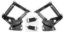 New! 1965 1966 Mustang Fairlane Falcon Comet Hood Hinges Pair with springs Set