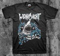 Wehrmacht 'Fast Shark' T shirt (Thrash Cryptic Slaughter Razor Hirax Slayer)
