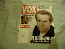 Vox, October 1992: The Farm, Peter Gabriel, Eric Clapton, Sugar, Tom Waits etc