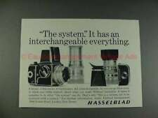 1965 Hasselblad Camera Ad, Interchangeable Everything!