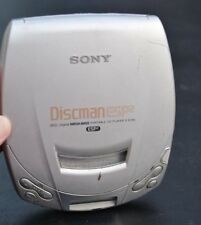 Sony Discman Esp2 Digital Mega Bass D-E200 Portable Cd Player Tested-Works!