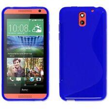 Fundas y carcasas HTC color principal azul de silicona/goma para teléfonos móviles y PDAs