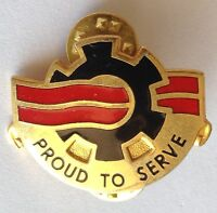 Proud To Serve USA Pin Badge Rare Vintage Military Service (D6)