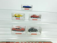 BD416-0,5# 5x Wiking H0/1:87 PKW: 049+830+823 Borgward+193 BMW+194, NEUW+OVP