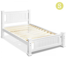 Artiss Single Size Wooden Bed Frame RIO Bedroom Mattress Timber Base Kids Adults