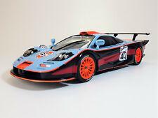 1:18 UT/ MINICHAMPS/ McLaren BMW F1 GTR LWB *LeMans* #40 *GULF* Buscher/ Nielson