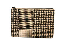 Theory Unisex F07AC063 Tablet Case Geometric Houndstooth Black Size OS