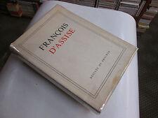 """FRANCOIS D'ASSISE """"SUR LES TRACES DU PROVERELLO"""".."""