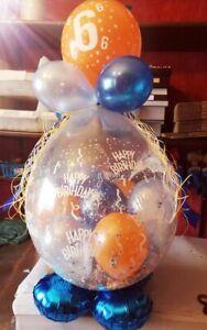 Befüllter Geschenkballon Luxus  - ideal zum Geburtstag, Hochzeit, Baby etc.