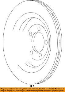 CHRYSLER OEM-Disc Brake Rotor 5290394AA