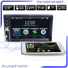 7''Double 2DIN Car DVD Player Bluetooth MP3/MP4/Audio/Video/USB Rearview&Camera