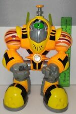 "Jupiter Gustus Planet Heroes Voice Comm Used Loose 8"" Talking Light Up Figure"