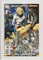 JUSTICE SOCIETY OF AMERICA #1 NM 9.4 (VARIANT COVER) *WHITE PAGES* 2007