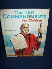 The Ten Commandments for Children Rand McNally Tip-Top Elf Book 1956