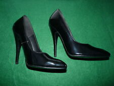 uk6 ~ 38 LSB leatherworks 14cm Sexy black patent fetish domina pumps high heels