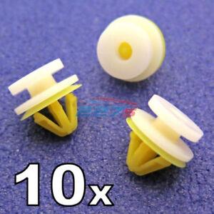 10 x Renault Pannello Portiera Clip- Trafic Interno Clip Rifiniture 7701050734