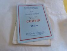 CHOPIN - PIANO - Partition VALSES N°5136 !!!