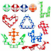 12 Magic Snake Speed Cube Puzzle Twist, Kids Toy Gift Christmas Stocking Filler