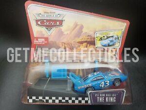 DISNEY PIXAR CARS PIT ROW RACE OFF THE KING LAUNCHER WOC SAVE 6% GMC