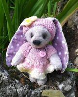 "OOAK Artist teddy bear bunny 5"""