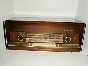 Vintage Grundig Model 3299U/Stereo BC SWI SWII FM Tube Radio W Germany