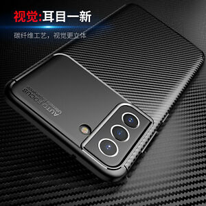Slim Thin Leather Case Cover For Samsung Galaxy S21 S20 Plus Ultra