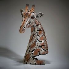 "Edge Sculpture Bust Giraffe 21.65"" - Enesco  New in Box"