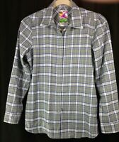 Burton DryRide Men's Snap Front Long Sleeve Flannel Shirt Plaid Ski Snowboard XL