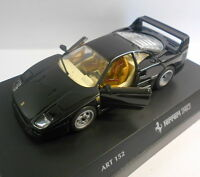 DETAIL CARS DETAILCARS 1:43 CAR DIE CAST FERRARI F40 MET. BLACK ART 152