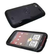caseroxx TPU-Case for HTC Sensation / Sensation XE in black made of TPU